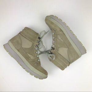 LL Bean Thinsulate Gray Sherpa Winter Snow Boots 9